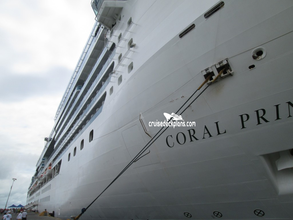 Coral Princess Exterior Picture