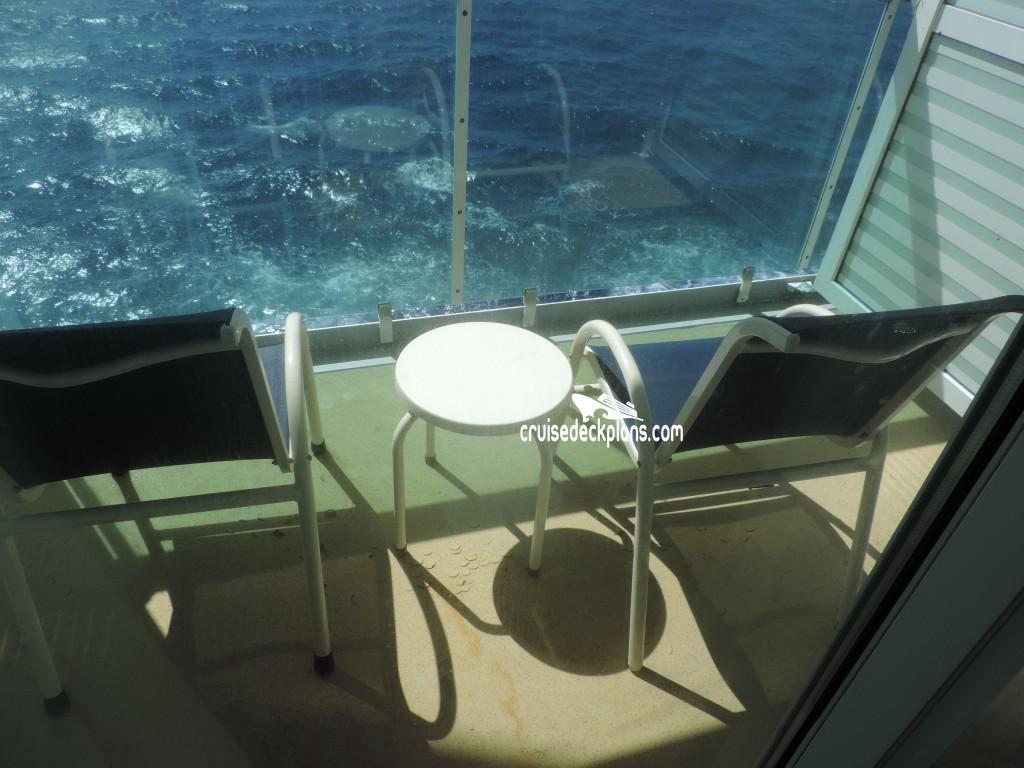 Serenade Of The Seas Superior Balcony Details