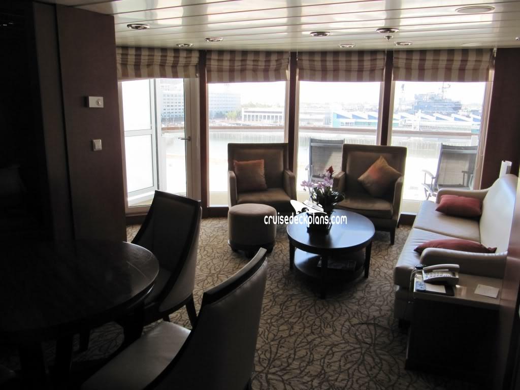Aqua class cabins on celebrity summit