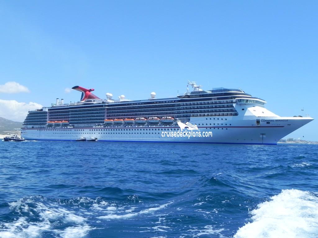 Carnival Miracle Empress Deck Plan Tour