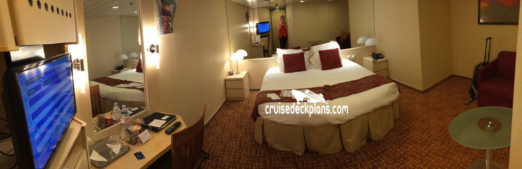 Cabins on celebrity cruise ships