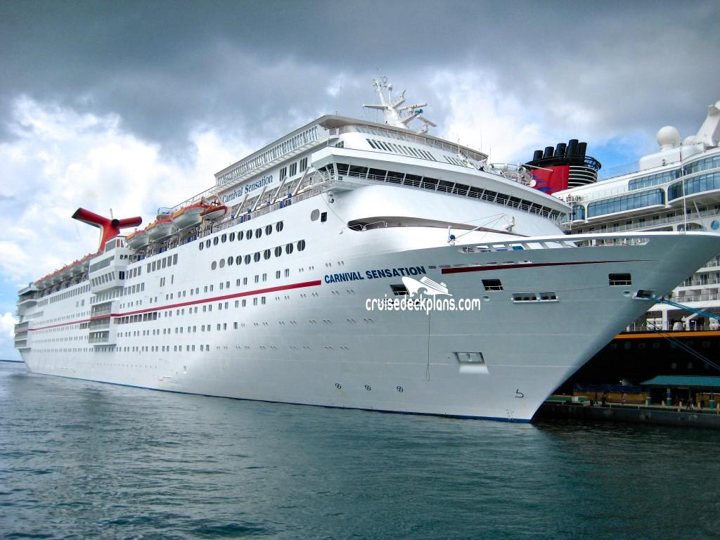 Carnival Sensation Empress Deck Plan Tour