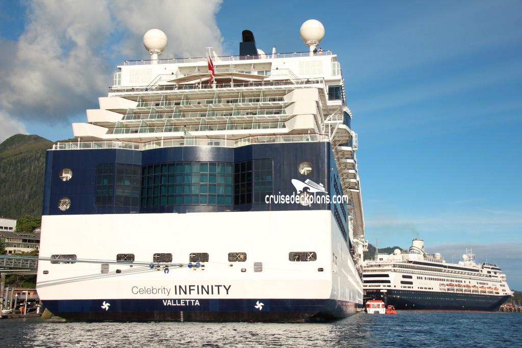 Vista deck celebrity infinity itinerary