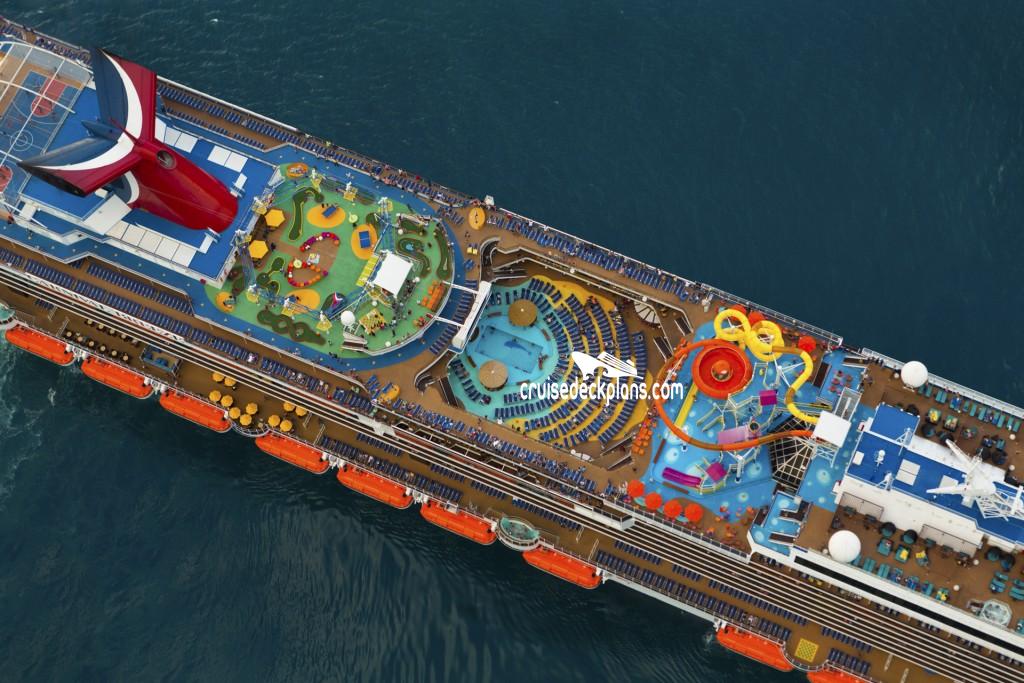 Carnival Breeze Empress Deck Plan Tour