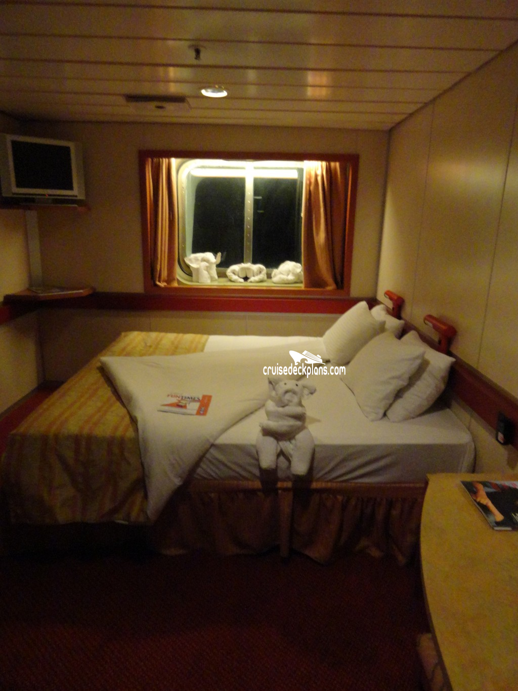 Carnival Ecstasy Oceanview Category