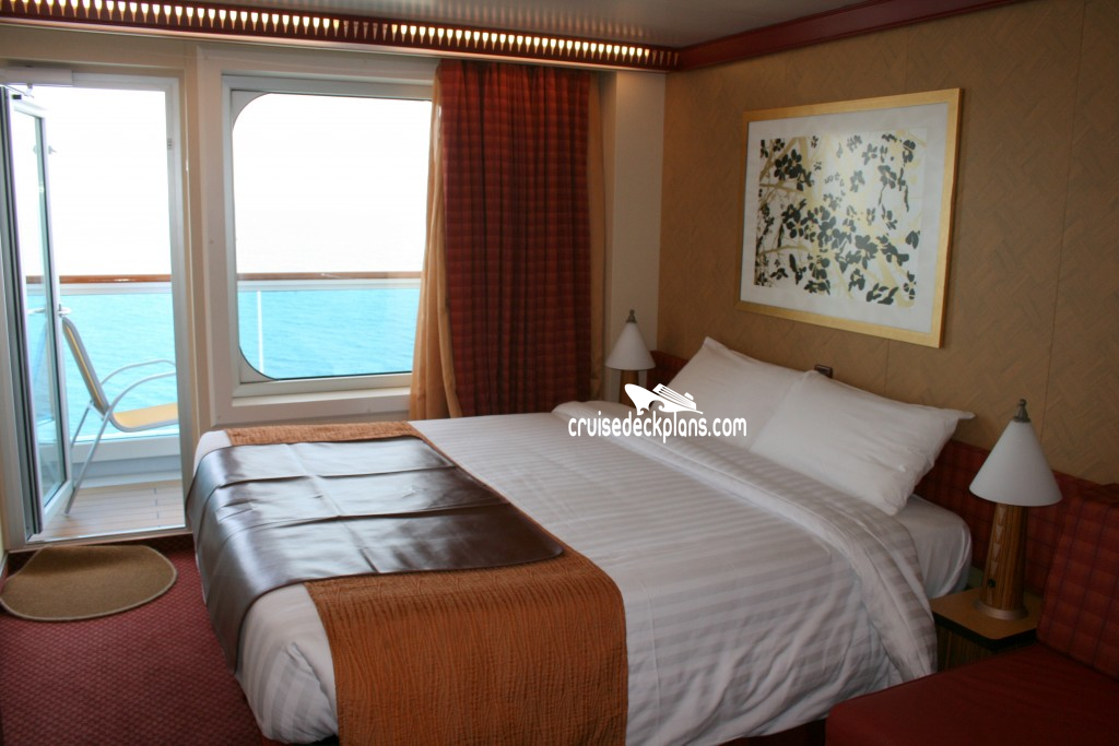 Costa diadema deck 9 deck plan tour for Balcony stateroom