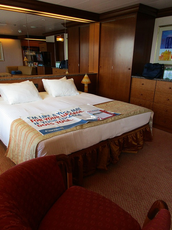 Carnival Glory Penthouse Suite Details