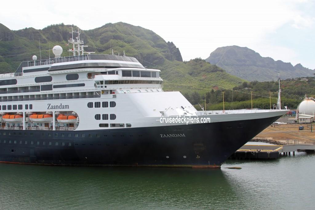 Zaandam Navigation Deck Plan Tour - Zaandam ship