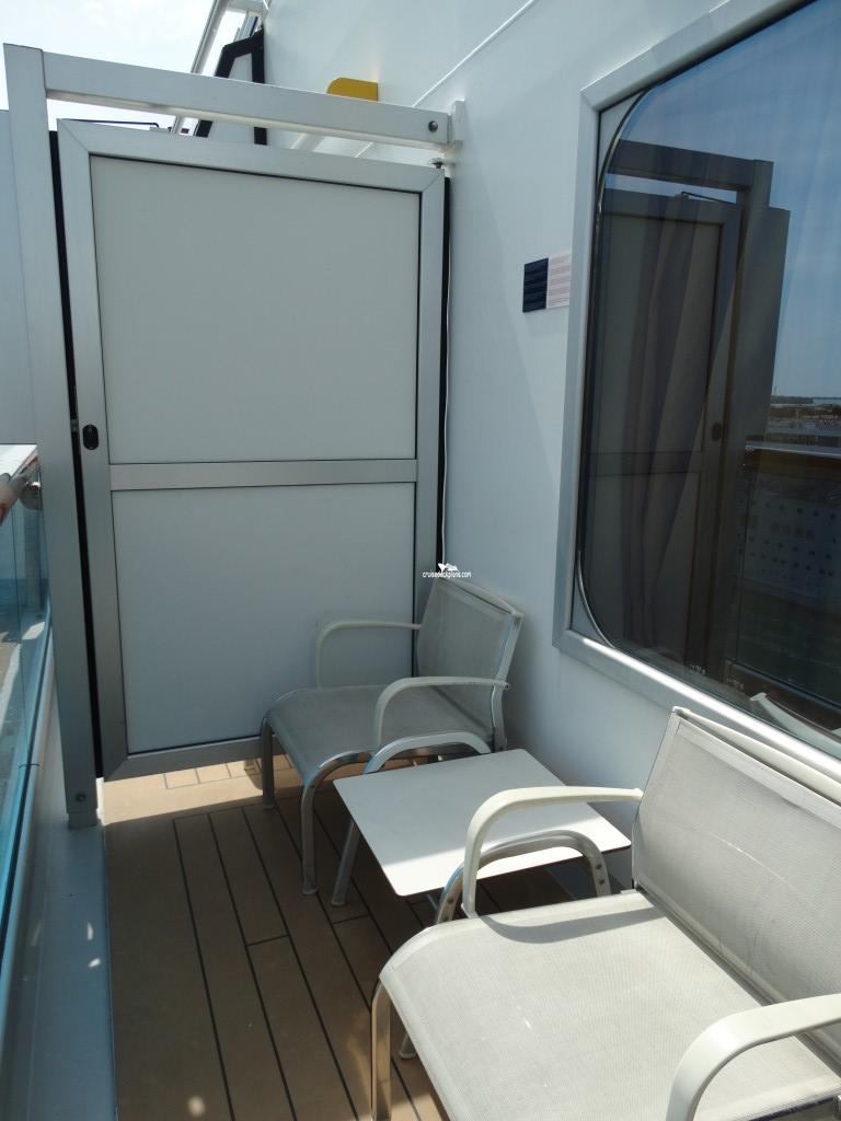Costa Concordia Class Balcony