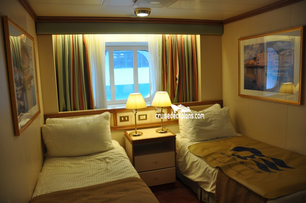 Crown Princess Oceanview Category