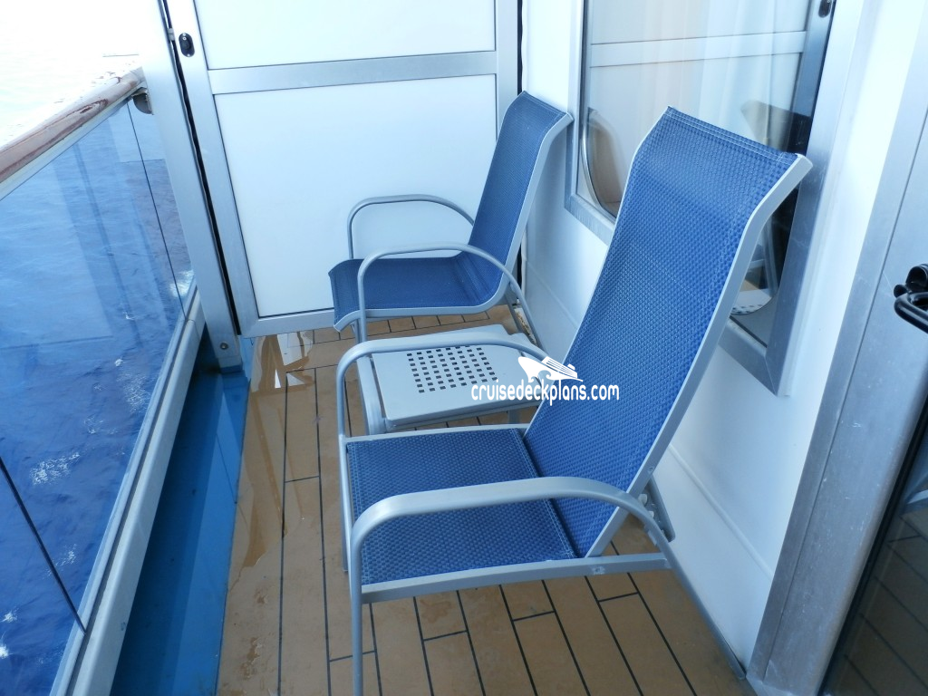 Carnival Dream Balcony Details
