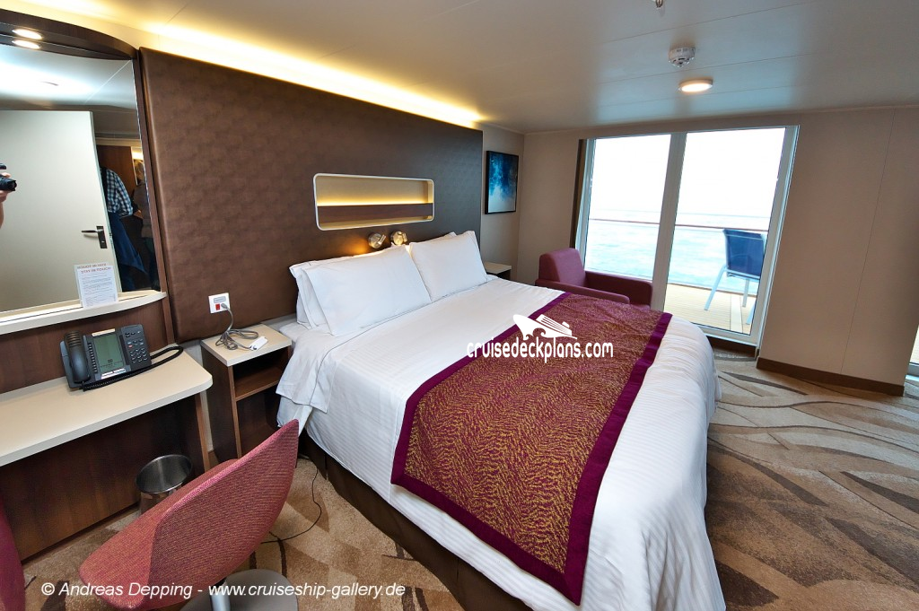 Norwegian Escape Mini Suite Details