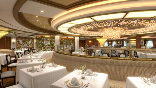 Royal Princess table for two