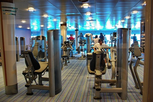 Celebrity Constellation Fitness Center - All Photos ...