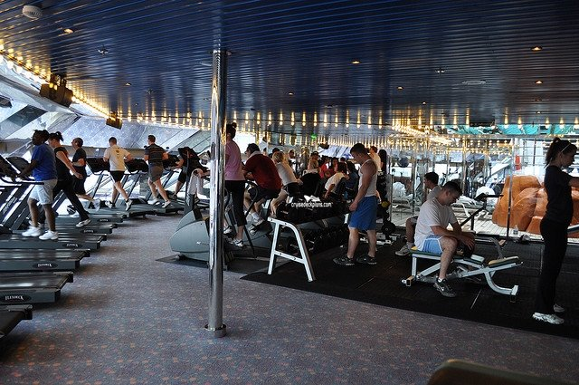 Carnival Glory Spa And Fitness Center Pictures