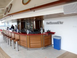 Celebrity Eclipse sunset bar anonymous
