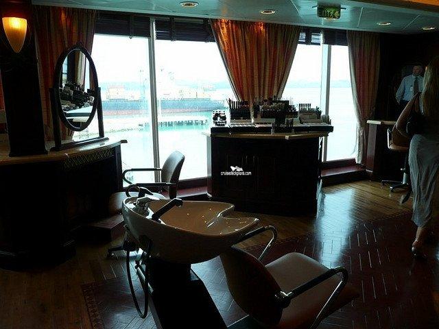 Nautica styling salon for Adonia beauty salon