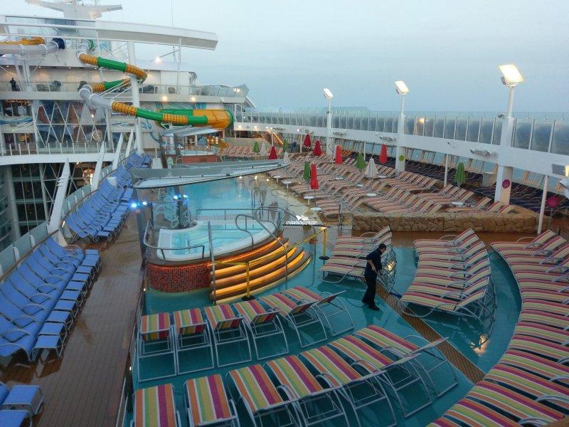 Symphony Of The Seas Beach Pool