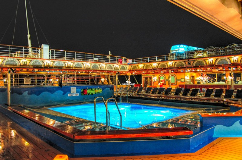 Carnival Victory Sirens Pool Pictures