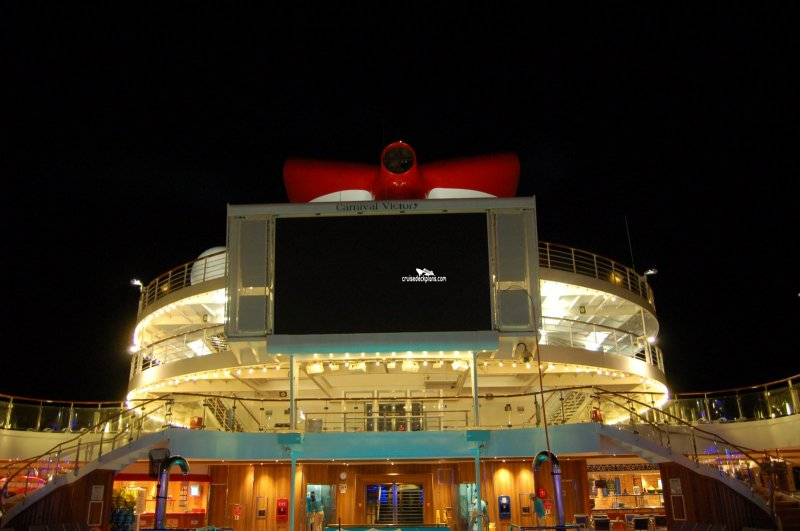 Carnival Victory Tritons Pool Pictures