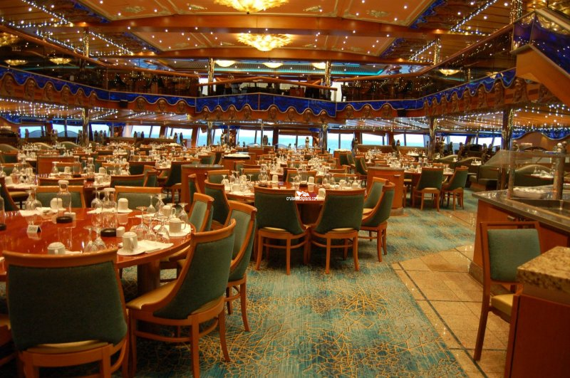 Carnival Victory Pacific Dining Room