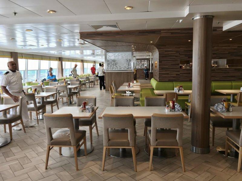 Norwegian Dawn Garden Cafe Pictures
