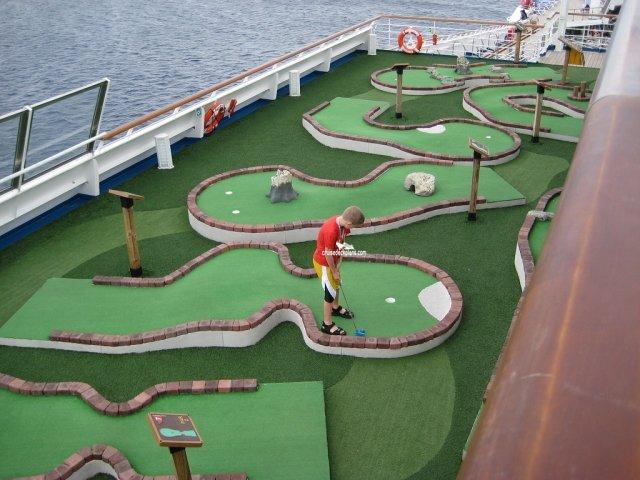 Carnival Triumph Mini Golf Pictures