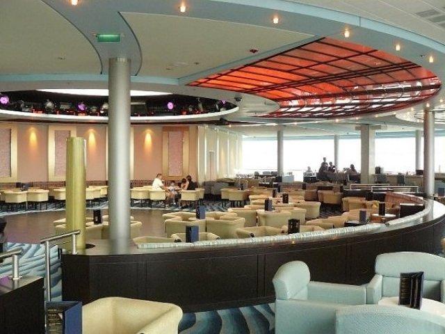Celebrity summit revelations lounge