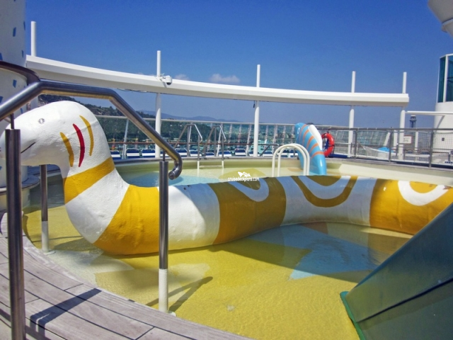 Brilliance of the Seas Adventure Beach