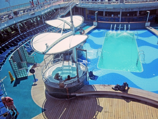 Brilliance of the seas deck 11 deck plan tour for Pool deck design tool