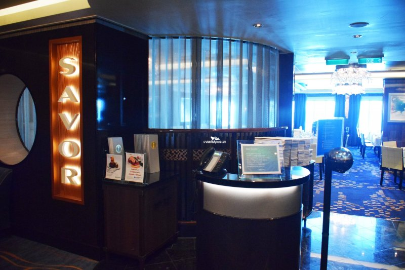 Norwegian Escape Savor Restaurant