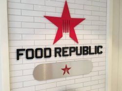 Norwegian Escape Food Republic Steve Millay