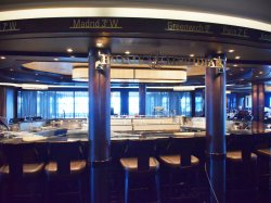 Norwegian Escape Prime Meridian Bar Steve Millay