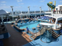 Norwegian Escape Main Pool Steve Millay