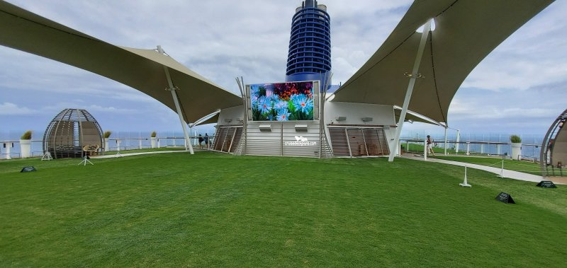 Celebrity Equinox The Lawn Club Pictures