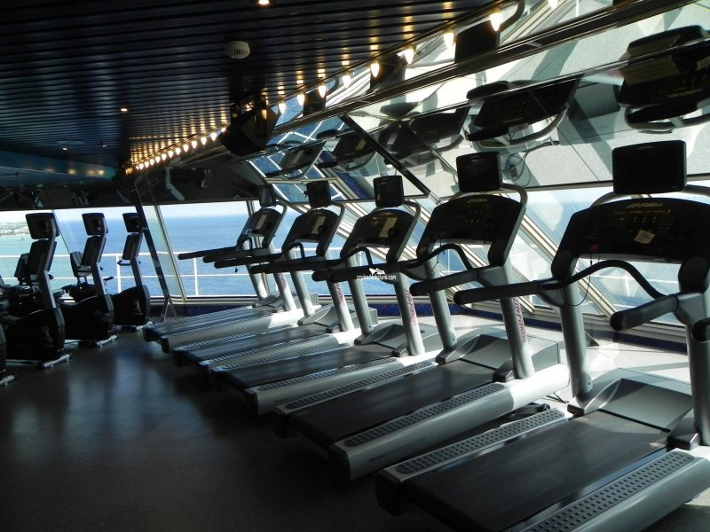 Carnival Glory Spa and Fitness Center
