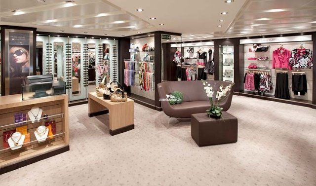 Seabourn Odyssey Boutique Shop Pictures