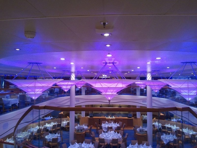Carnival Breeze Sapphire Dining Room Pictures