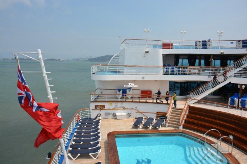 GRAND PRINCESS To Scandinavia, Part One | Maritime Matters ... |Pool Terrace Grand Princess