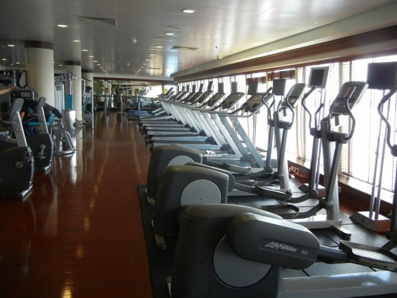 Norwegian Jewel Fitness Center