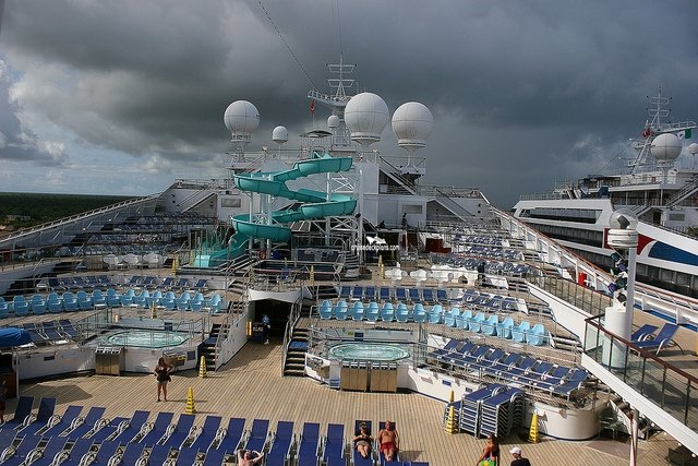 Carnival Liberty Tivoli Pool Pictures