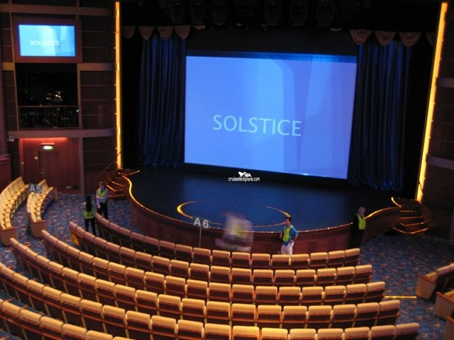 Celebrity Solstice Promenade Deck Plan - Deck 4