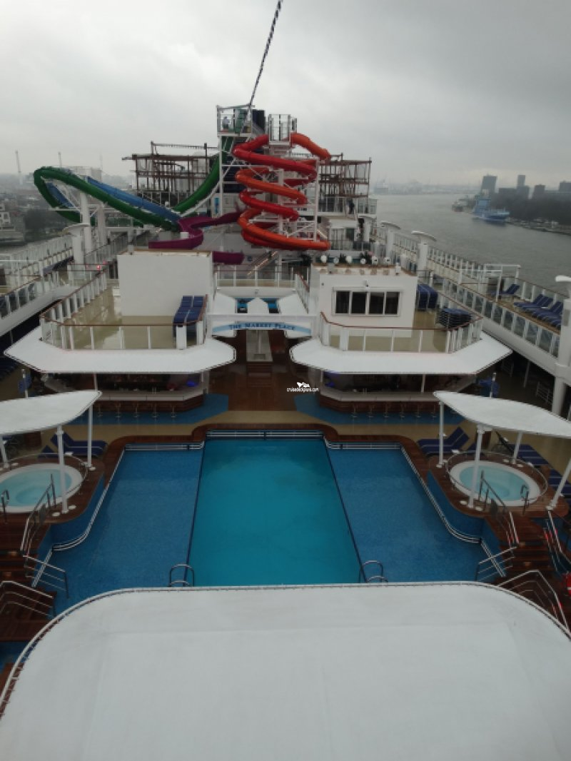 Norwegian Getaway Deck 15 Deck Plan Tour