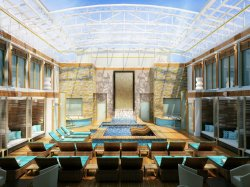 Norwegian Escape The Haven Courtyard NCL