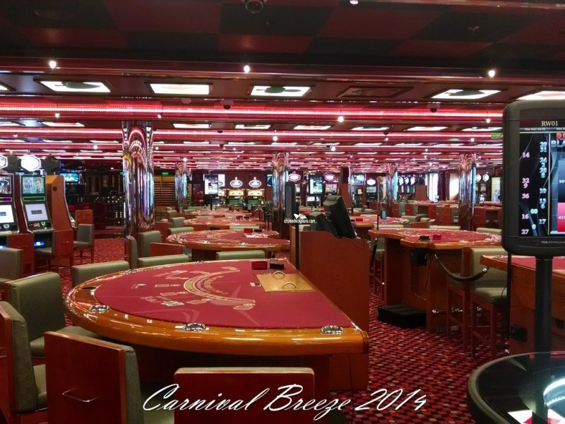 Carnival Breeze Casino Pictures