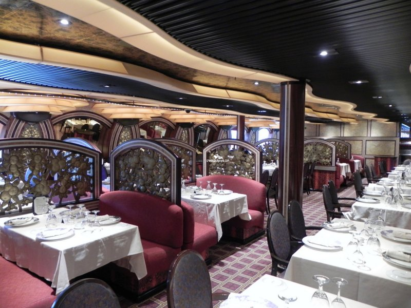 Carnival Freedom The Posh Restaurant Pictures
