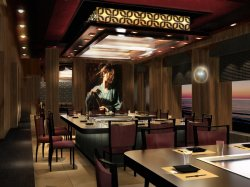 Norwegian Escape Teppanyaki NCL