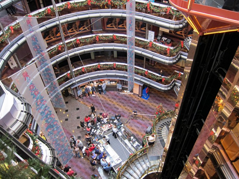 Carnival Fascination Grand Atrium Plaza Pictures