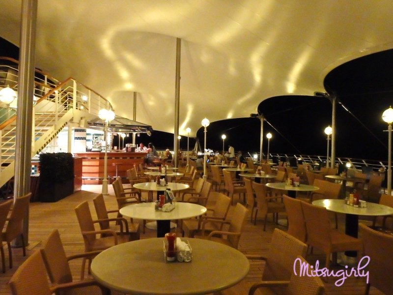 Norwegian Sun Great Outdoors Cafe