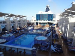 Celebrity Eclipse Main Pools Jim Moore